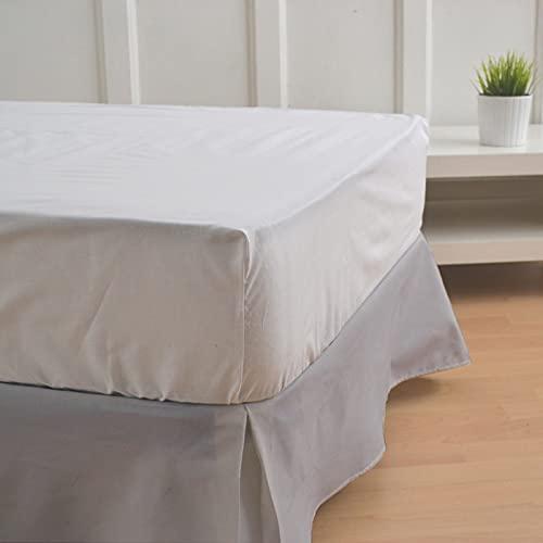 10XDIEZ Cubre canapé Gris | (Cama 135 cm - Gris)