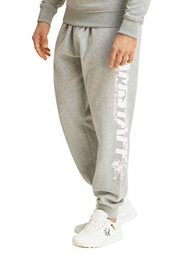 Amstaff Logo 2.0 Sweatpants Grau/Weiß L