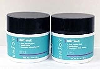 Enjoy Dry Wax (4 Oz) (2 Pack of 2 Oz) (More Then 3.35 Oz)