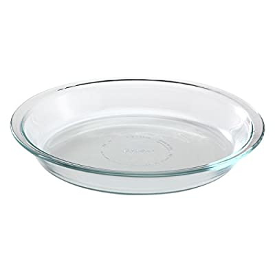Pyrex Basics 9.5in Pie Plate, 1, Clear