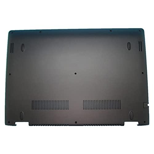fqparts Cubierta Inferior de la Caja del Ordenador portátil D Shell para Lenovo ideapad Yoga 500-14ACL 500-14IBD 500-14IHW 500-14ISK Color Negro
