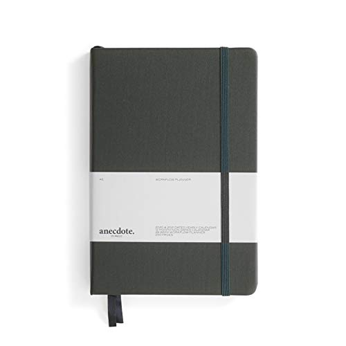 The Anecdote Daily Planner 2021. A Daily, Weekly & Monthly Planner. Achieve Your Goals. Establish Yearly, Monthly, Weekly & Daily Workflow, A5 size, Hardcover Daily Planner. Start Anytime. -INK BLUE