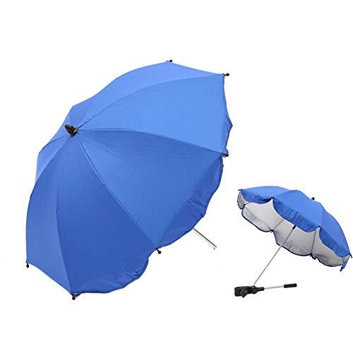 ERJIA Baby Buggy Regenschirm, Rollstuhl, Kinderwagen und Sonnenschirm, UV-Strahlen, Sonnenschutz, Himmel Schatten für Kinder, faltbar C