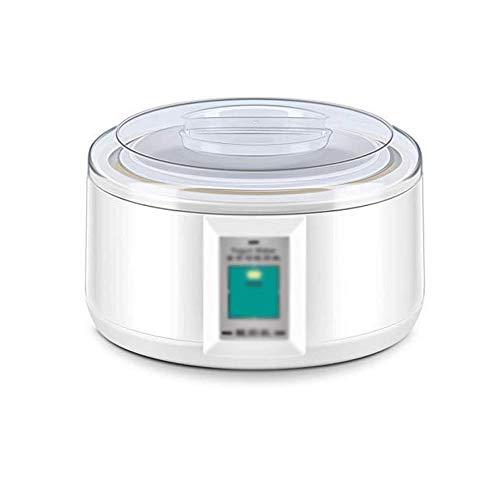 SNJDX Joghurtmaschine - Automatische Joghurtmaschine Griechische Glasgefäße Passen Sie Ihren Geschmack und Ihre Stärke an