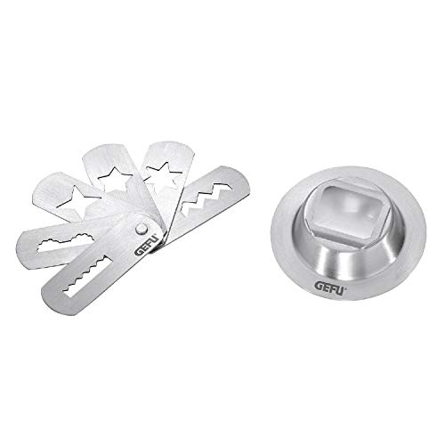 GEFU Cookie Press Attachment (Size 5), 5, Steel