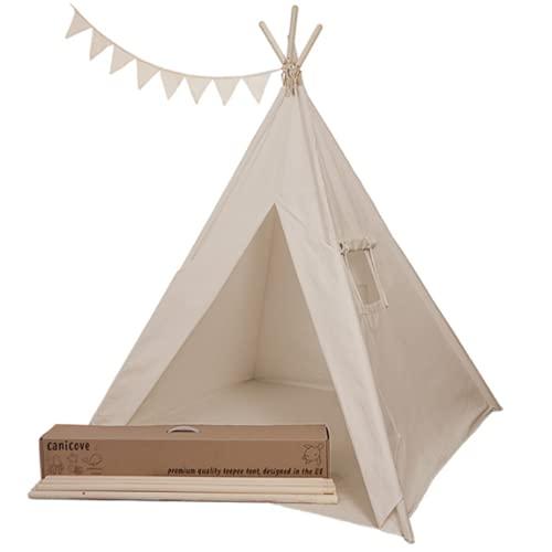 Tenda Teepee in Tela per Bambini, in Cotone...