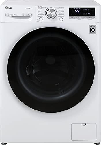 LG F4WV708P1E Waschmaschine, 8 kg, 1400 U/Min, Energieeffizienzklasse A