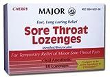 Sore Throat Lozenges Cherry Flavor(compare to Cepacol)
