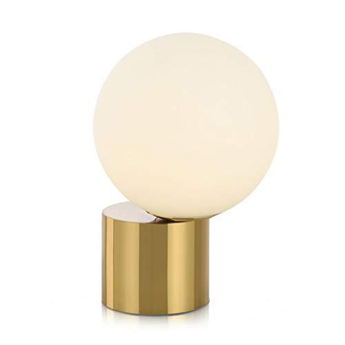 Lámpara de mesa lámpara de noche Lámparas de mesa postmodernas Lámparas de mesa simples Lámparas de salón Lámparas de mesa de estudio Barras Lámparas de mesa Lámparas de mesa de vidrio de metal Lámpar