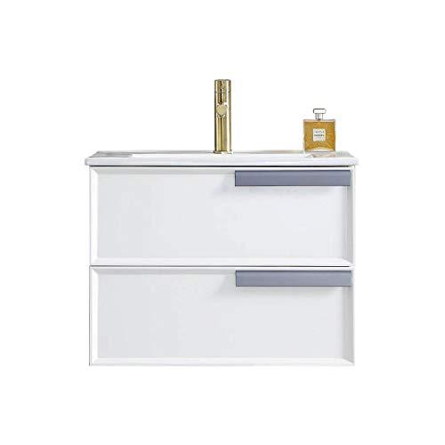 """Waterproof 24"""" Single Bathroom Vanity with Ceramic Sink, 020 24 01 C MT15 (24"""", Matte White)"""