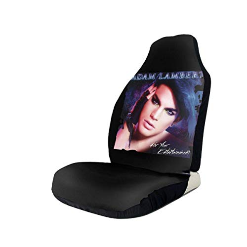 hengshiqi Car Seat Covers, Adam Lambert for Your Entertainment Car Seat Cover Automotive Front Seat Protectors Fit for Most Car Truck SUV - 1PC/2PC