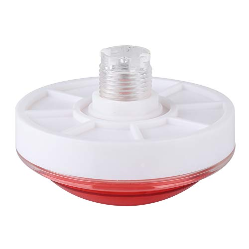 Botón de Juego, botón de Timbre, Abdominales Resistentes y Seguros para Juegos de Clase(Red)