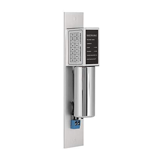 DC12V 2-Draht-Sicherheitszugangsschloss, elektrischer Riegel, Umweltschutz für Glastüren Apartments Home Hotels