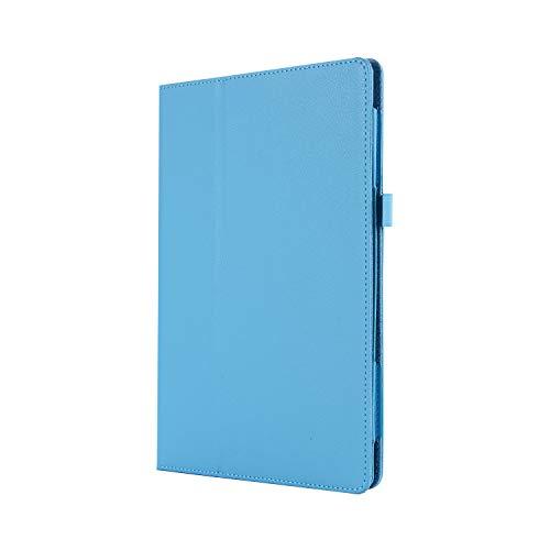 WindTeco Lenovo Tab3 8 / Tab 2 A8-50 Hülle - Ultra Dünn & Leicht PU Leder Schutzhülle mit Standfunktion für Lenovo Tab 3 8 (TB3-850F / TB3-850M) / Tab 2 A8-50 8,0 Zoll Tablet, Hellblau