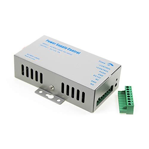 YAVIS Netzteil Tür Zugangskontrolle System Netzschalter 3A 90-260 V AC auf DC 12V für Alle Arten Access Control System Türschloss mit Zeitverzögerung k80