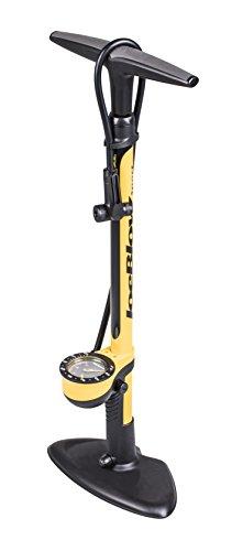 TOPEAK Joe Blow Sport III High Pressure Floor Pump Fahrradbodenpumpe, gelb/schwarz, Einheitsgröße