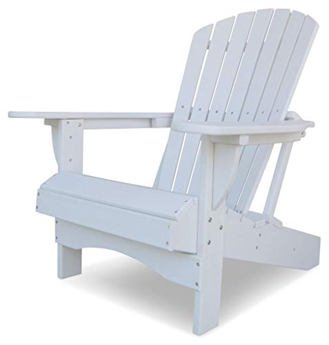Original Dream-Chairs since 2007 Adirondack Chair Comfort aus Kunststoff (Weiß)