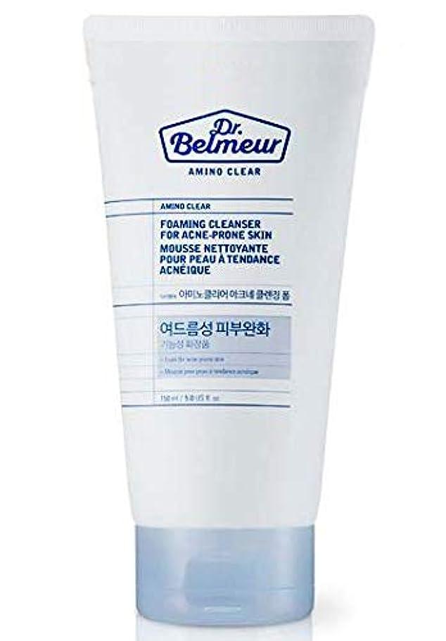 語下手情緒的[ザ?フェイスショップ] THE FACE SHOP [ドクターベルモ アミノ クリア クレンジングフォーム? 150ml] Dr.Belmeur Amino Clear Foaming Cleanser 150g) [海外直送品]