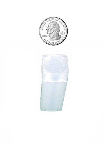 Numis 24.3mm Quarter Dollar Square Coin Tube Storage 5 pack