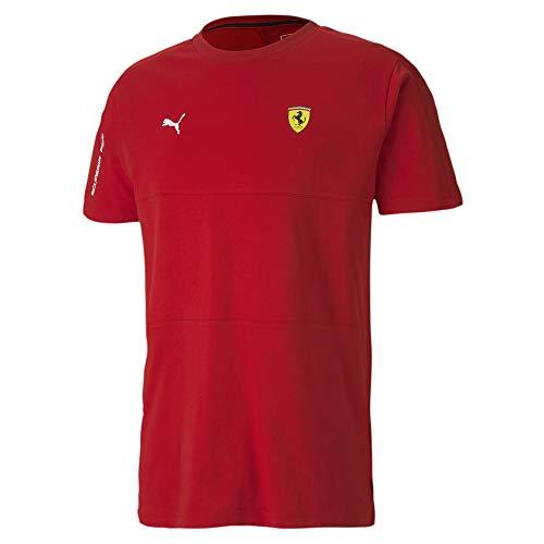 PUMA SF T7 tee Camiseta, Hombre, Rosso Corsa, XXL