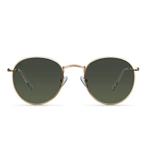 MELLER - Yster Gold Olive - Gafas de sol para hombre y mujer