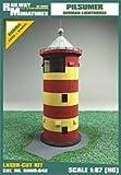 Farol Miniaturas RMH0:048 Pilsumer Faro Diorama, 9,9 x 8,4 x 17,6 cm