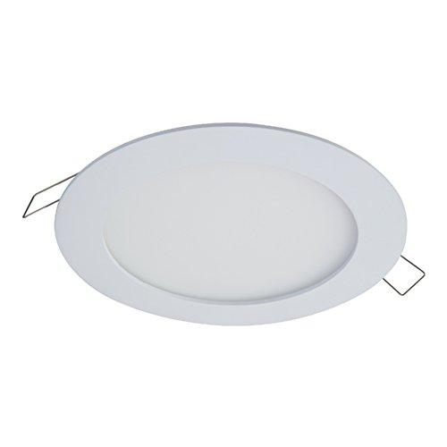 Halo SMD6R6930WHDM SMD-DM Objektiv, rund, integrierte LED-Aufbau-Einbauleuchte, Einbauleuchte, 3000 K (keine Notwendigkeit möglich), 15,2 cm, Weiß