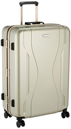 [ワールドトラベラー] スーツケース 日本製 コヴァーラム ベアリング入り双輪キャスター 84L 69 cm 5.6kg ゴールド