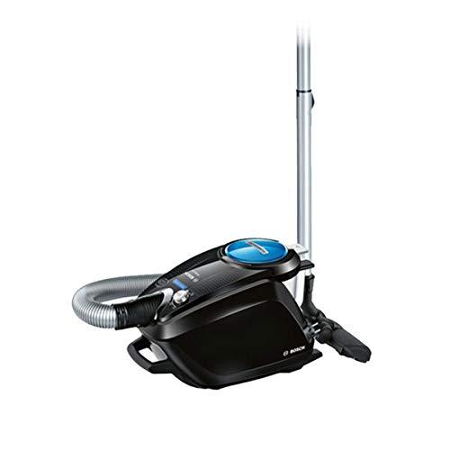Bosch Relaxx'x ProSilence66 Aspirateur sans Sac - Classe d'efficacité énergétique A - 66 DB(A) - Noir avec des Buses supplémentaires Noir