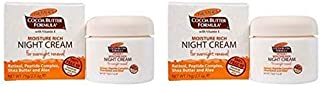 Palmer's Cocoa Butter Formula Moisture Rich Night Cream, 2.70 oz (Pack of 2)