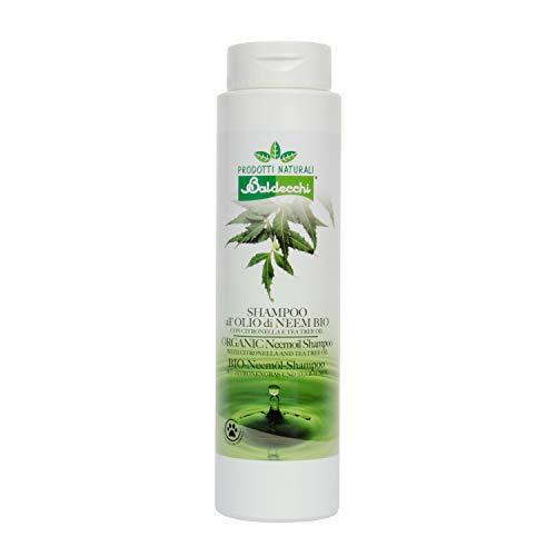 BALDECCHI - Shampoo ALL'OLIO di NEEM - Citronella & Tea Tree Oil - ml 250