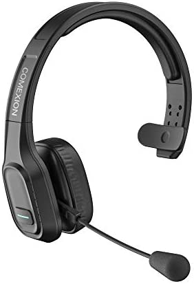 COMEXION Trucker Bluetooth Headset V5 0 Wireless Headphone with Mute Mic for Cell Phones On product image