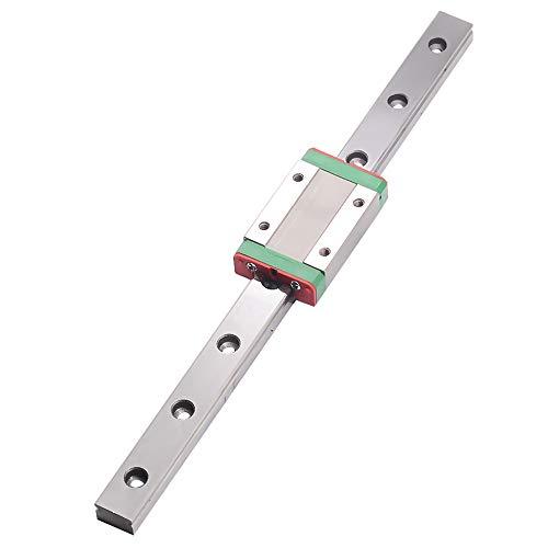 MGN12H リニアレールガイドmgn12mm CNC部品 長150mm-750mmのミニ mgn12h線形ブロックキャリッジミニチュアリニアモーションガイドウェイと (mgn12h-450mm)