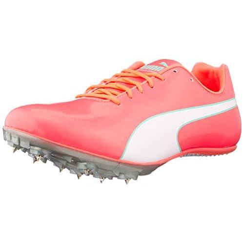 PUMA Evospeed Sprint 10, Scarpe da Atletica Leggera Unisex-Adulto, Rosa (Ignite Pink Silver), 37 EU