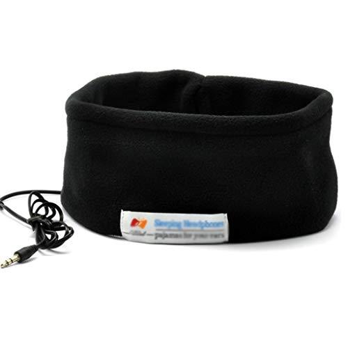 Asmr Music Headband Auricular Tipo Bufanda/Máscara para Los Ojos, Pañuelo En La Cabeza para Dormir Insonorización Lado Cómodo Sin Dolor De Oídos, Paño Grueso Y Suave (Tamaño : 2pcs)