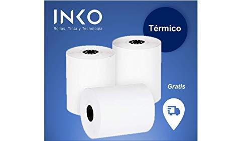 Papel Térmico Caja Registradora  marca INKO