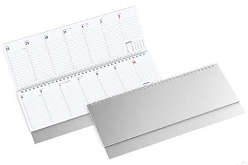 Querkalender Querterminbuch, 1 Woche/ 1 Seite 280 x 10 mm weiß
