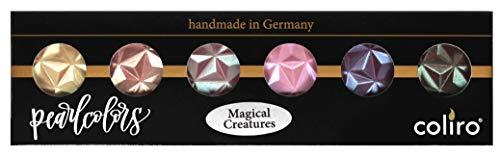 Coliro Magical Creatures Pearl Colors Set 6 Pigmentos Finetec
