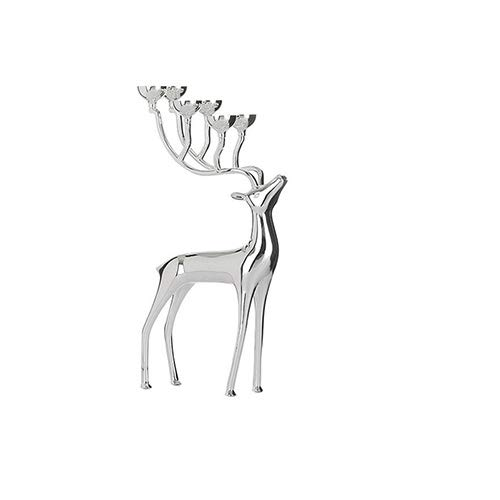 Mryishao dekorativer KerzenhalterKreative Hirsch-förmige Metall Kerzenständer Kerzenhalter