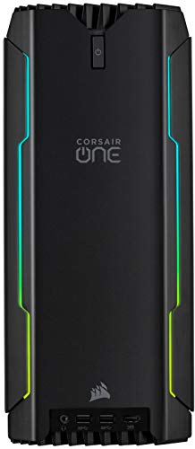 Corsair ONE a100 Kompakter Gaming-PC – AMD Ryzen 9 3950X-CPU – NVIDIA GeForce RTX 2080 Ti-Grafikkarte – 32 GB CORSAIR VENGEANCE LPX DDR4-Arbeitsspeicher