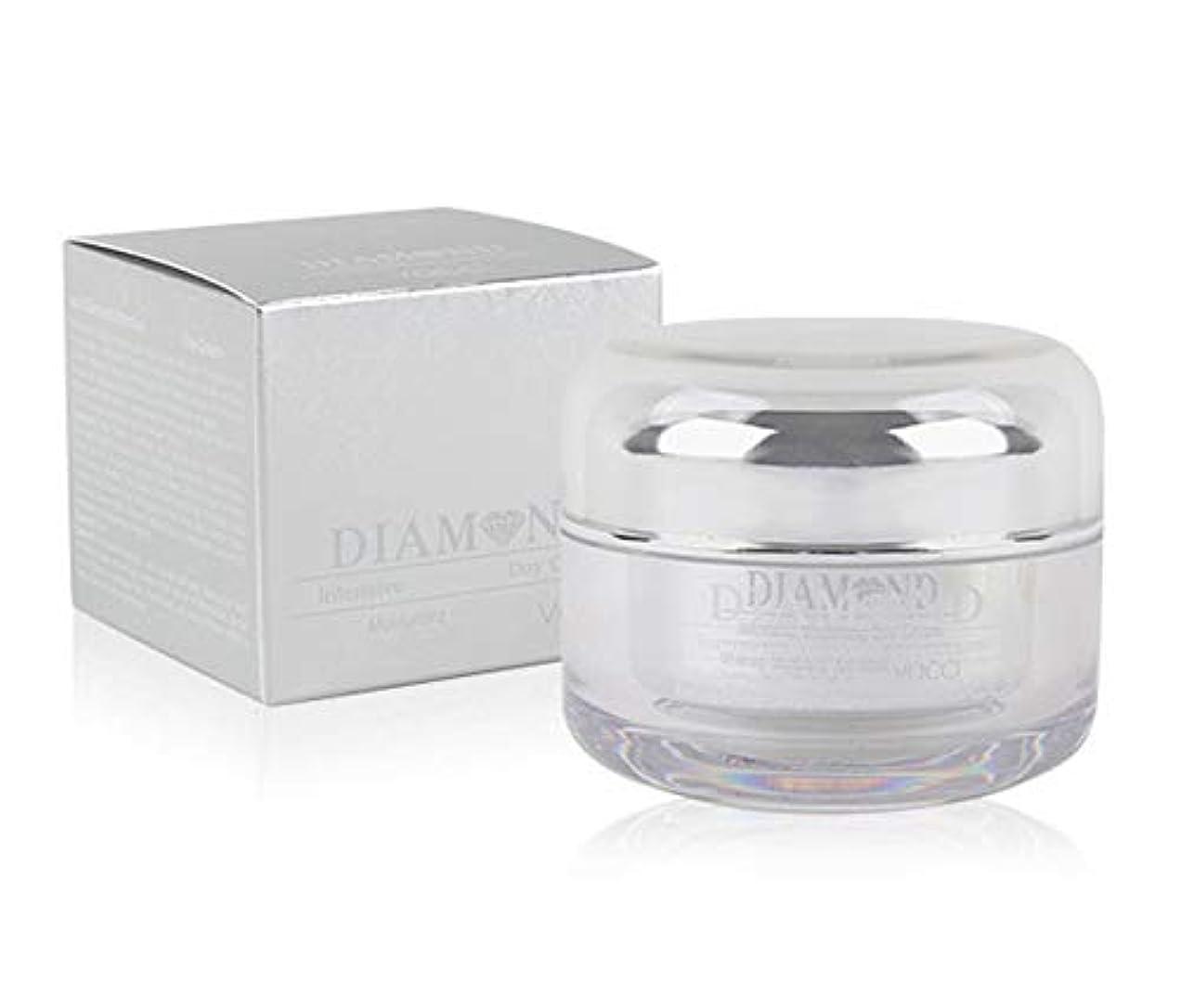 忘れっぽい啓発する救い[vacci] ダイヤモンドインテンシブホワイトニングデイクリーム50ml / Diamond Intensive Whitening Day Cream 50ml / モイスチャライジング、SPF 35 ++ PA ++、ファーミングリフティング/韓国化粧品 / Moisturizing, SPF 35++PA++, Firming Lifting / Korean Cosmetics [並行輸入品]