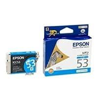(業務用50セット) EPSON エプソン インクカートリッジ 純正 【ICC53】 シアン(青) ds-1730968