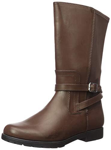 Stride Rite Girls' SR Ellarose Fashion Boot, Brown, 13 M US Little Kid