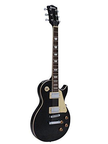Dimavery LP-520 E-Gitarre, schwarz