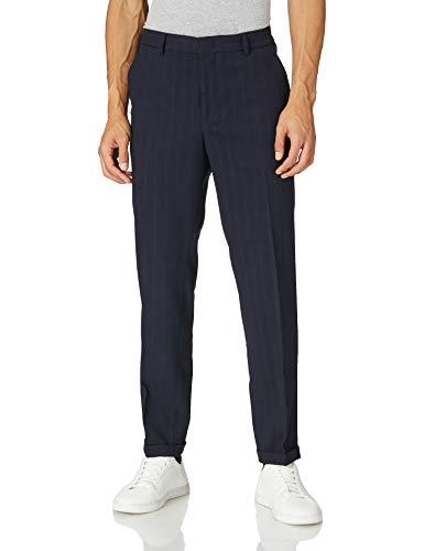 Scotch & Soda Herren MOTT - The Classic Suit Pant Hose, 0004 Navy, 38W / 36L