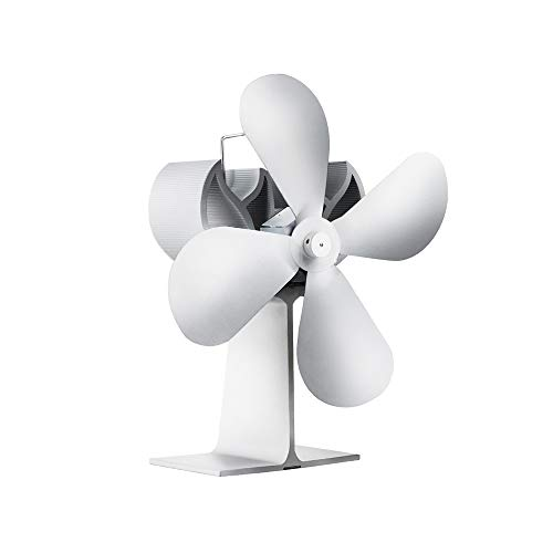 Review Of Crystalzhong-hd Stove Fan Fireplace Fan European and American Thermal Power Fan - 4 Blades...