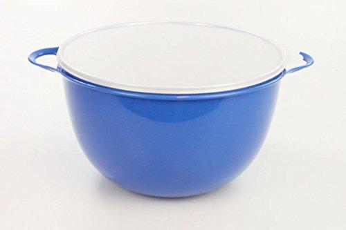 TUPPERWARE Rührschüssel Maximilian 14,0 L blau Große Schüssel Patybombe Salatbar