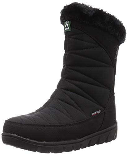 Kamik Damen HANNAHMID NK2255 Halblange Stiefel, Schwarz BLK, 39 EU