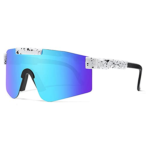 Sports Polarized Sunglasses,Outdoor Sports Windproof Eyewear,Ideal for Cycling, Running, Fishing and Outdoor Activities