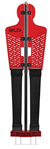 SKLZ Pro Training Soccer Defender Mannequin, Red